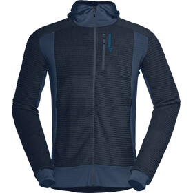 Norrøna M's Lofoten Alpha Raw Zip Hoodie Indigo Night